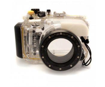 40M Meikon Sony RX100 Waterproof Case Underwater Housing