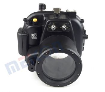 40M waterproof case underwater housing for Canon 550D T2I 18-55