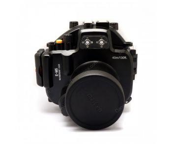 40M Meikon Underwater Housing Waterproof Case for Olympus OMD EM5 12-50mm