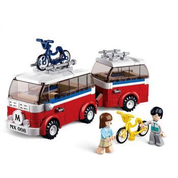 Sluban Building Blocks Educational Kids Toy Small Ship