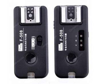 PIXEL ROOK F508 2.4GHz Professional Wireless Flash Trigger for Canon