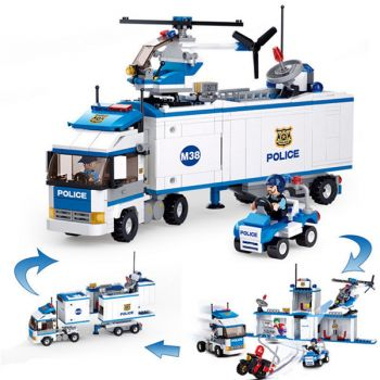 Sluban Big School Bus Educational Building Blocks Brick Toy