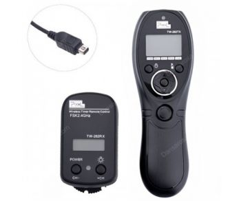Pixel TW-282/L1 Wireless Timer Remote Control for Panasonic DMC FZ L C GH GX G L
