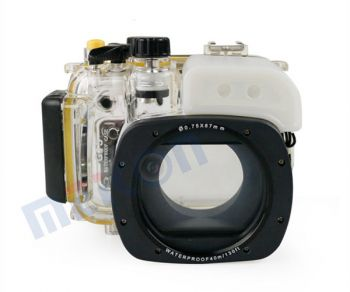 40M waterproof case underwater housing for Canon G15