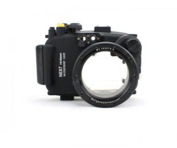 40m Meikon Sony NEX 7 underwater housing waterproof case 16-50/18-55