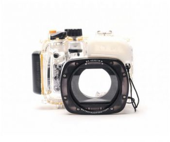 40M 130ft Waterproof case underwater camera housing for Canon G16