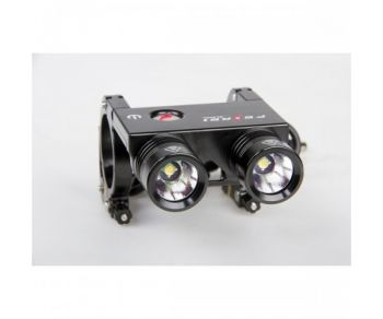 FEREI BL-200S 2 x Cree XP-G R5 700lm 3-Mode Memory White Bicycle Light