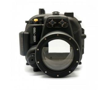 40m Meikon Canon 700D 650D T5I T4I Underwater Housing Waterproof Case 18-55