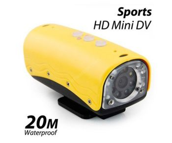 AT90 FHD 1080P Waterproof  Wide Angle Sports Action Camera Camcorder DVR