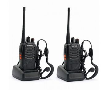4 x 2-Way Radio BaoFeng BF-888S Portable Handheld Walkie Talkie UHF 5W 16CH