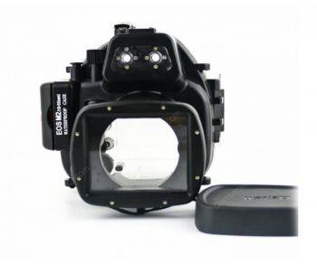 40M Meikon Canon EOS M2 Waterproof Case Underwater Housing 18-55mm