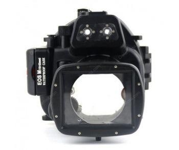 40M Meikon Canon EOS M Waterproof Case Underwater Housing 18-55