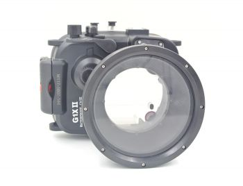 Meikon 60M Canon G1X Mark II Underwater Housing Waterproof Case 12.5-62.5