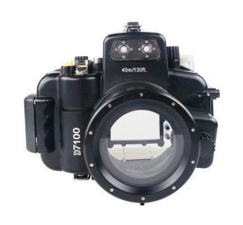 Meikon 40M Nikon D7100 Underwater Housing Waterproof Case 18-55