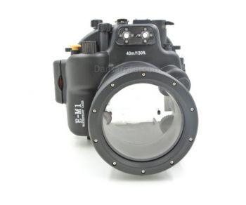 40M Meikon Olympus OM-D E-M1 Underwater Housing Waterproof Case 12-40