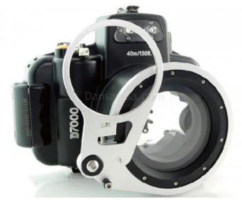 M67 Fisheye adaptor of Meikon Nikon D7000 D7100underwater housing waterproof case