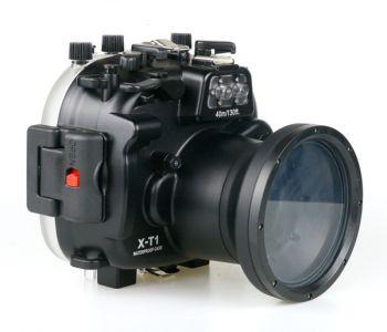 Meikon 40M Fujifilm X-M1 Underwater Housing Waterproof Case