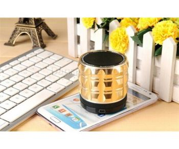 S30 Metal Portable Mini Bluetooth Speakers Bass MP3 Player Support MIC MIC TF Card Hands Free