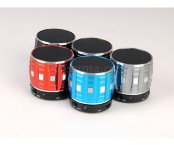 S32 Metal Portable Mini Bluetooth Speakers Bass MP3 Player Support MIC MIC TF Card Hands Free