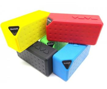 X3 Jambox Style Mini Bluetooth portable Powerful speaker Mp3 Player Mic TF USB FM