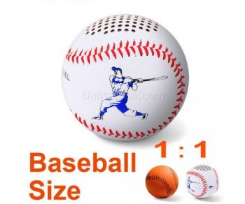 Wireless Portable Baseball Mini Bluetooth Speaker Handsfree