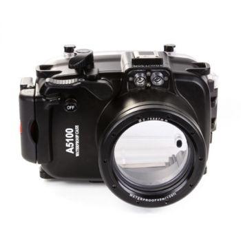 40m Meikon Sony A5100 Underwater Housing Waterproof Case 16-50