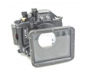 40m Meikon Panasonic LX100 Underwater Housing Waterproof Case 24-75