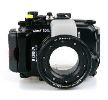 40m Meikon Sony RX100 IV Underwater Housing Waterproof Case