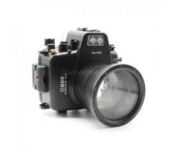 40m Meikon Nikon D800 Underwater Housing Waterproof Case