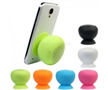 Waterproof Suction Cup Mini Bluetooth Speaker Hands Free