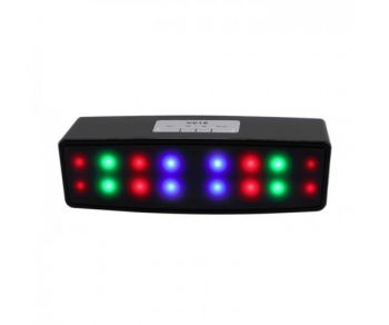 Flash Light Portable Mini Wireless Bluetooth Speaker V618