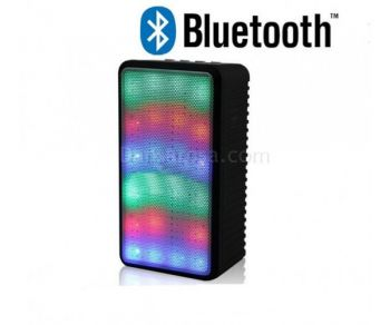 JHW-V338 LED Light Bluetooth Speaker Sound Box Support FM AUX TF Card Play