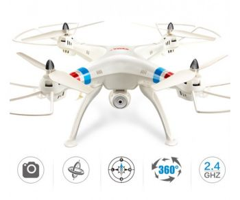 SYMA X8G RC Drone 2.4G 4ch 6 Axis Venture FPV RC Quadcopter With 5MP HD Camera