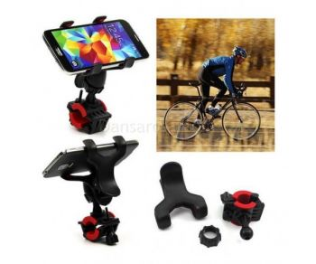 Antiskid Bicycle Bike Cell Phone Holder Mount For Iphone Android Cellphone
