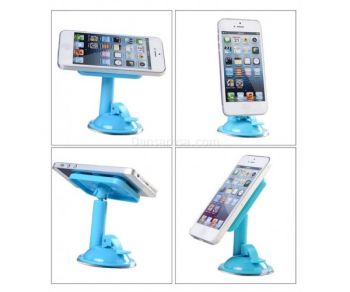 360 Degree Rotatable Bicycle Bike Cell Phone Holder Clip Stand Mount for Iphone Android