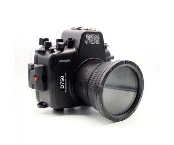 60m Meikon Nikon D750 Underwater Housing Waterproof Case