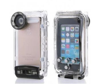 "40m waterproof case underwater housing waterproofing bag for Iphone 6, 6s 4.7"" with compass"