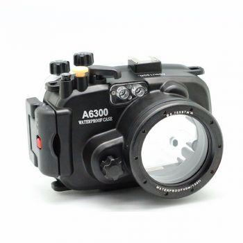 40m Meikon Sony A6300 Underwater Housing Waterproof Case 16-50