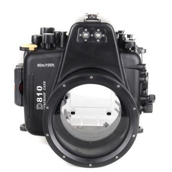 60m Meikon Nikon D810 Underwater Housing Waterproof Case