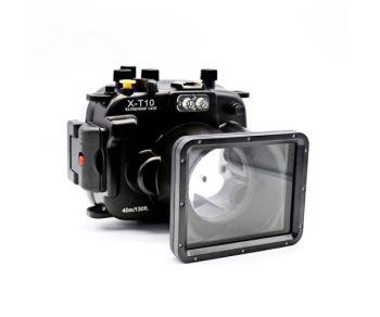 40m Meikon Fujifilm XT10 Underwater Housing Waterproof Case 16-50