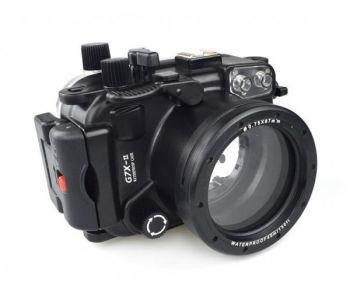 40m Meikon Canon G7XII Underwater Housing Waterproof Case 8.8-36.8mm lens