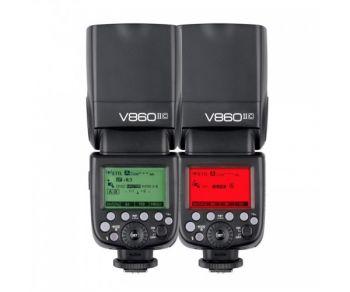 Godox V860II-C E-TTL HSS 2.4G Wireless Build-In Transceiver Flash for Canon EOS