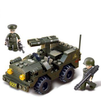 Sluban Building Blocks Educational Kids Toy Courier