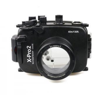 40m Meikon Fujifilm X-Pro2 Underwater Housing Waterproof Case