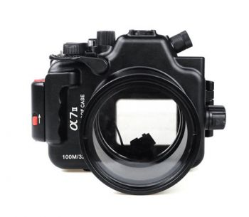 100m Waterproof Case Aluminum Underwater Housing For Sony A6000 16-50mm
