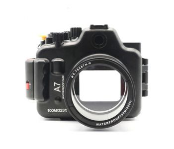 100m Waterproof Case Aluminum Underwater Housing For Sony A7 28-70mm