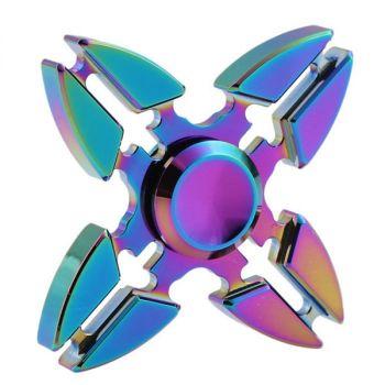 UFO Aluminum Fidget Spinners Fingertip Gyro Toys