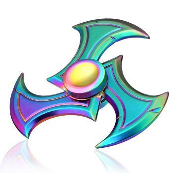 Mandala Aluminum Fidget Spinners Fingertip Gyro Toy