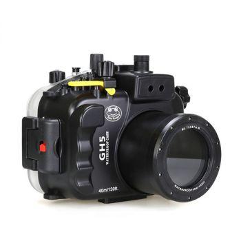 40M Meikon Panasonic GH5 Underwater Housing Waterproof Case
