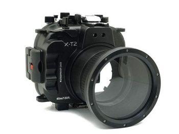40M/130FT Meikon Fujifilm X-T2 Underwater Housing Waterproof Case